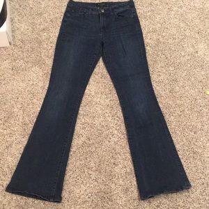 Banana Republic Wide Leg Flare Jeans Sz:28/6